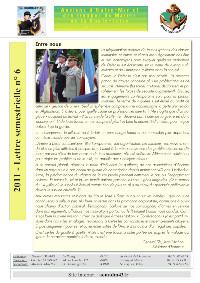 lettre-semestrielle-n°6 - JUILLET-2011